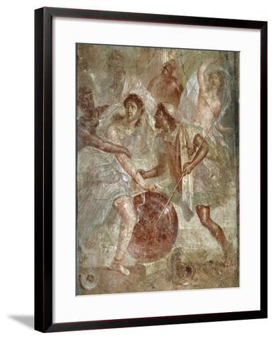 Ulysses and Diomedes Recognizing Achilles--Framed Art Print