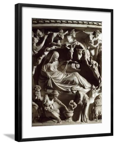 The Nativity, by Pisano--Framed Art Print