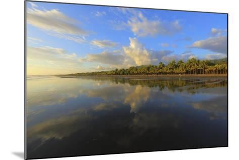 Low Tide Sunset on Playa Linda near Dominical-Stefano Amantini-Mounted Photographic Print
