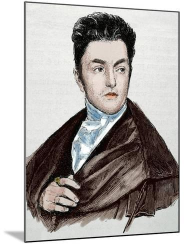 Maximilian Emanuel Von Lerchenfeld (1778-1843). Germany. Engraving. Colored.-Tarker-Mounted Photographic Print