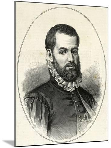 Pedro Menendez De Aviles (1519-1574). Engraving.-Tarker-Mounted Photographic Print