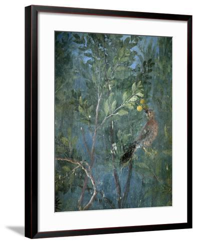 Roman Art : Painted Garden Giving the Illusion of a Real Garden--Framed Art Print