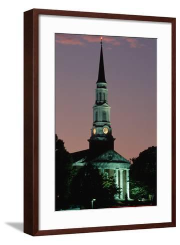 Chapel at the University of Maryland-Paul Souders-Framed Art Print