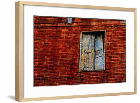 Broken Window-Andr? Burian-Framed Art Print