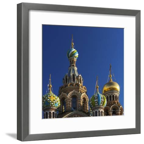 The Church of the Spilled Blood.-Jon Hicks-Framed Art Print