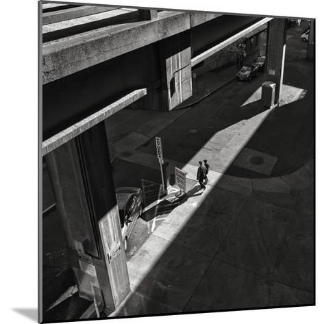 Into the Light under the Offramp-Dean Forbes-Mounted Photographic Print