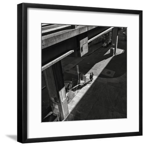 Into the Light under the Offramp-Dean Forbes-Framed Art Print