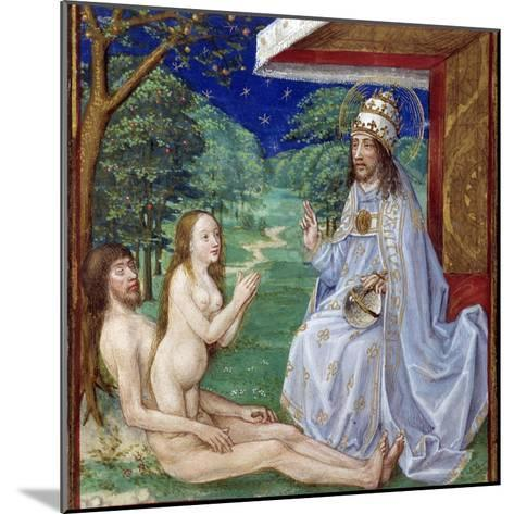 The Creation of Eve from Adam's Rib in the Garden of Eden--Mounted Photographic Print