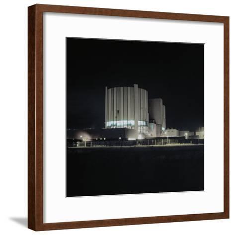 Nuclear Power Plant-Robert Brook-Framed Art Print