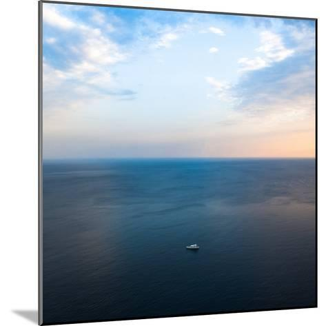 Ship in the Sea-Oleh Slobodeniuk-Mounted Photographic Print