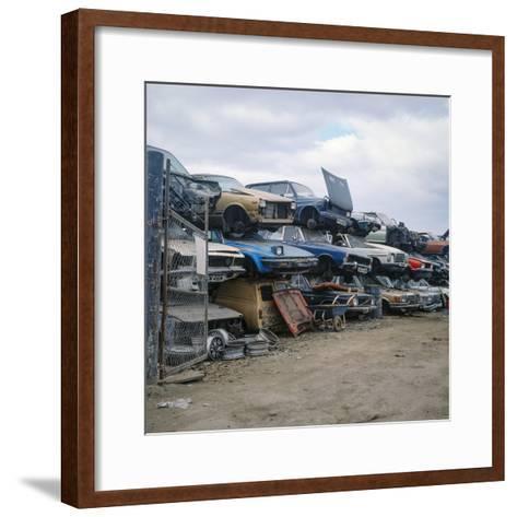 Breakers Yard-Robert Brook-Framed Art Print
