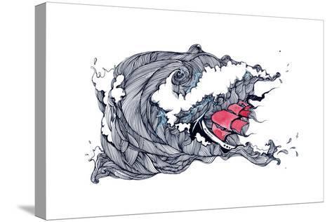 Storm-okalinichenko-Stretched Canvas Print