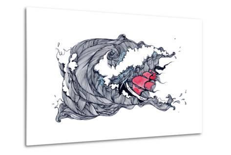 Storm-okalinichenko-Metal Print
