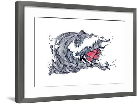 Storm-okalinichenko-Framed Art Print
