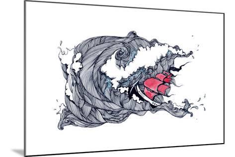 Storm-okalinichenko-Mounted Art Print