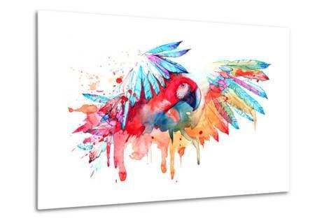 Parrot-okalinichenko-Metal Print