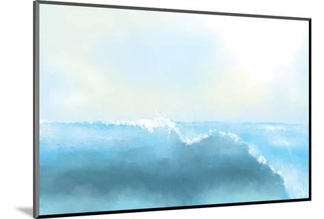 Painting Of A Great Sea Wave-stari-Mounted Photographic Print
