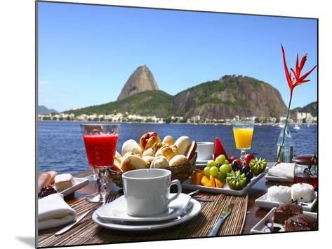 Breakfast In Rio De Janeiro-luiz rocha-Mounted Photographic Print