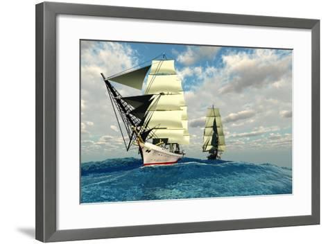 Seaway-Corey Ford-Framed Art Print