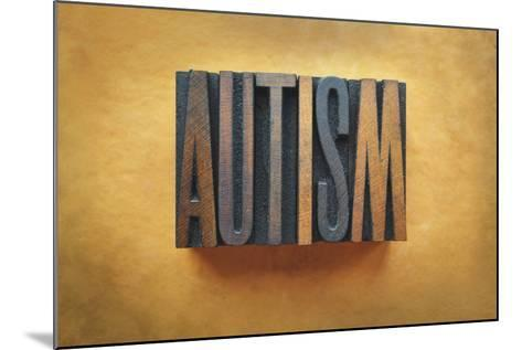 Autism-enterlinedesign-Mounted Photographic Print