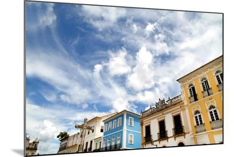 Buildings In Salvador-Spectral-Design-Mounted Photographic Print