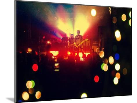 A Concert Shot-graphicphoto-Mounted Photographic Print