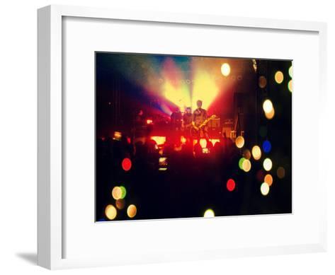 A Concert Shot-graphicphoto-Framed Art Print