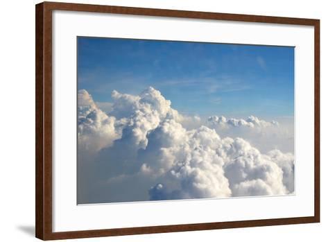 Clouds-Rus N.-Framed Art Print