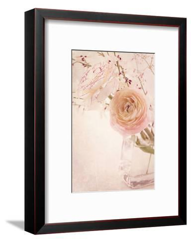 Ranunculus Flowers in a Vase-egal-Framed Art Print