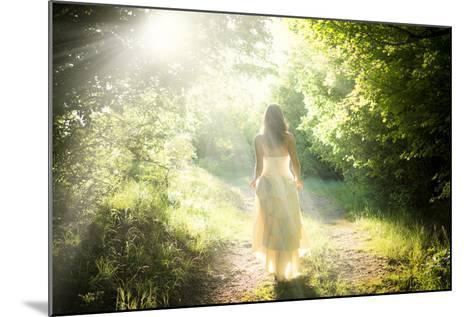 Walking Fairy-PetarPaunchev-Mounted Photographic Print