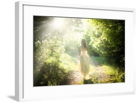Walking Fairy-PetarPaunchev-Framed Art Print