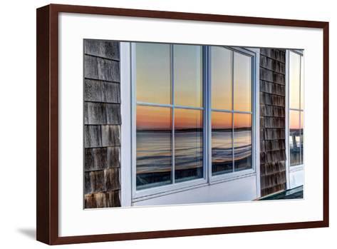 Sunrise Reflection 26-dbriyul-Framed Art Print