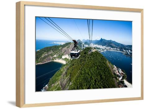 The Cable Car To Sugar Loaf In Rio De Janeiro-Mariusz Prusaczyk-Framed Art Print