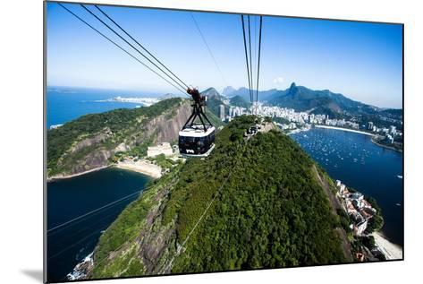 The Cable Car To Sugar Loaf In Rio De Janeiro-Mariusz Prusaczyk-Mounted Photographic Print