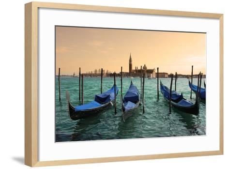 San Giorgio Maggiore Church In Venice, Italy-rglinsky-Framed Art Print