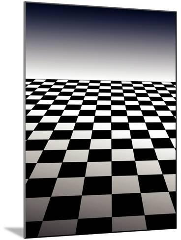 Checker Board Background-Isaac Marzioli-Mounted Photographic Print