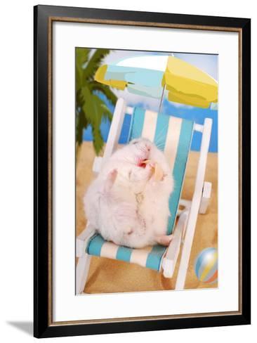 Lazy Summer Holidays- teresaterra-Framed Art Print