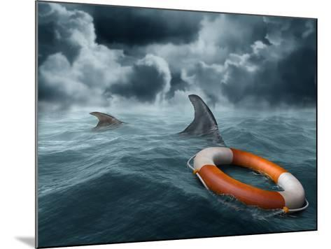 Lost At Sea-paul fleet-Mounted Photographic Print