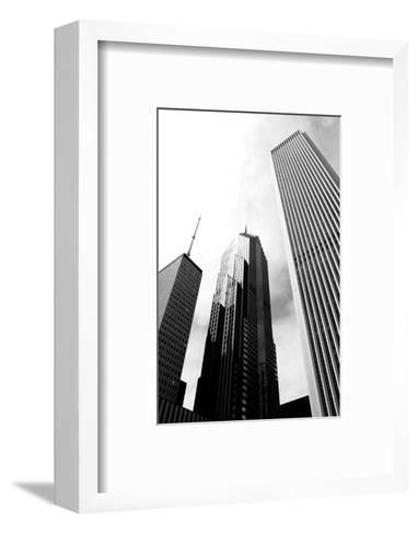 Chicago-cpenler-Framed Art Print