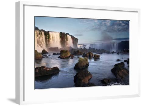 Iguazu Falls-zothen-Framed Art Print