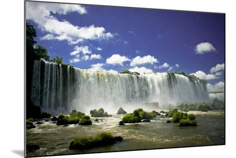 Iguazu Falls-Neale Cousland-Mounted Photographic Print