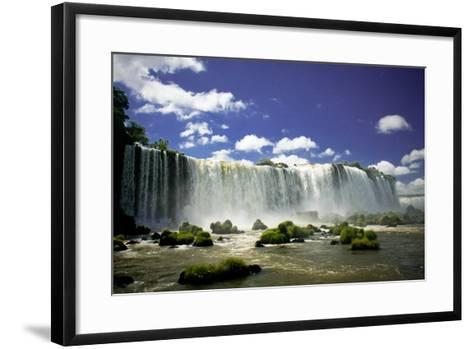 Iguazu Falls-Neale Cousland-Framed Art Print