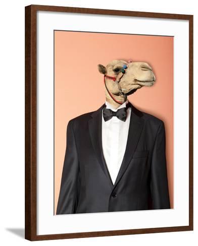 Camel-Andreyuu-Framed Art Print
