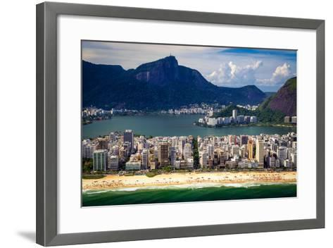 Ipanema Beach-CelsoDiniz-Framed Art Print