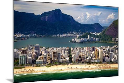 Ipanema Beach-CelsoDiniz-Mounted Photographic Print