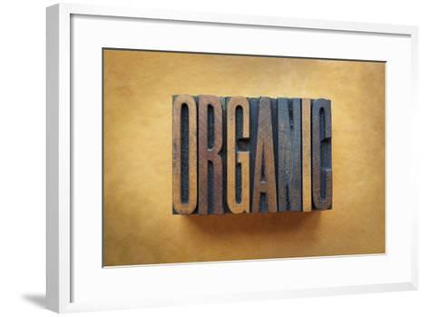 Organic-enterlinedesign-Framed Art Print