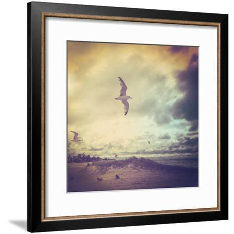 Stormy Day-soupstock-Framed Art Print