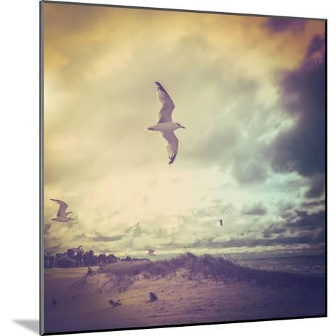 Stormy Day-soupstock-Mounted Photographic Print