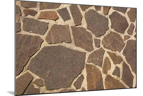 Stone Floor Background- Alberto SevenOnSeven-Mounted Photographic Print