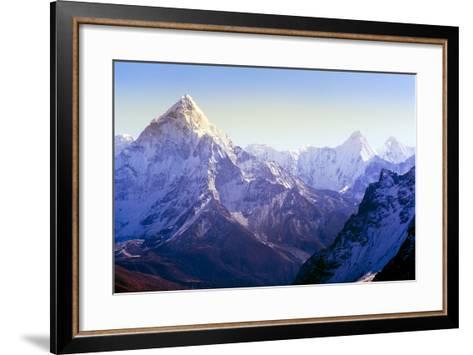 Himalaya Mountains-Microstock Man-Framed Art Print